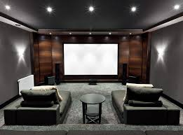 home theater rooms design ideas. Home Theater With Lounge Couches Rooms Design Ideas