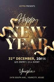 Graphicriver party of the year flyer. Download New Year Flyer Templates For Photoshop Ffflyer Com