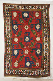 sold for 41 475 pinwheel kazak rug