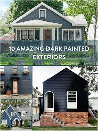 diy sweepstakes central eye candy 10 dark painted exteriors home