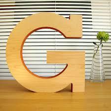 letter sculpture g