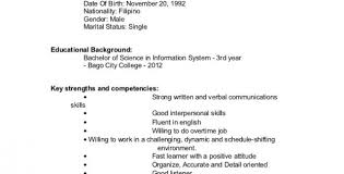 Simple Online Resume 19 Examples Online Resume For Students About Simple Step Resume