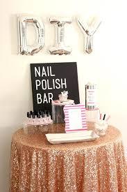 diy bridal shower favors nail polish bar something turquoise a pink nail polish wedding favor diy diy bridal shower favors