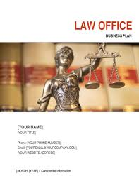 Law Templates Law Office Business Plan Template Word Pdf By Business In A Box