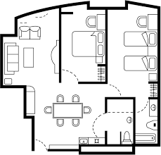 View Floor Plans Of Extended Stay Hotels Suites Extended Stay - Two bedroom suites toronto