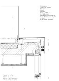 3full Detail Architektur Zeichnungen Fassadenschnitt Und
