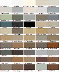 Mapesil Sealant Colour Chart 7 Mapesil Ac Silicone Colour Range Mapei Color Chart