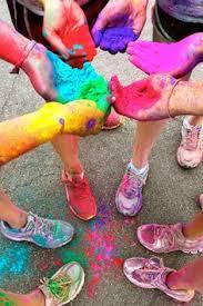 110 Powder paint ideas | powder paint, paint fight, color fight