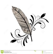 Feather Graphic Design Graphic Design Feather Stock Vector Illustration Of