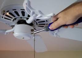 image of ceiling fan chandelier diy