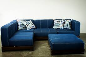 sectional sofa design brilliant choice for denim