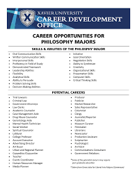 Skills And Abilities Career Opportunities For Philosophy Majors Skills Amp