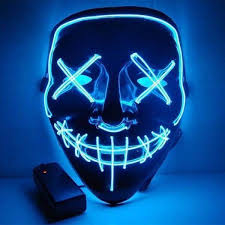 Official <b>Halloween Led</b> Purge <b>Mask</b> – Halloweenmaskrz