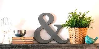 ampersand decoration post