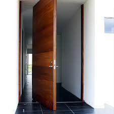 center pivot door. teak front entry door - center pivot e