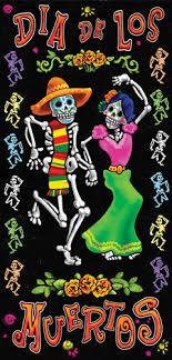Spanish classroom door High School Class Day Of The Dead Door Cover Small Home Wall Decor Carlex Inc Spanish Classroom Decorations