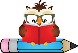 Image result for owl and book clip art