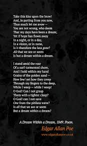 Dream Within A Dream Quote Best Of Edgar Allan Poe Quotes Edgarallanpoecouk