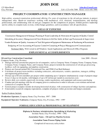 Project Manager Resume Sample Expert Oil Gas Resume Samples