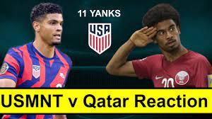 USMNT v Qatar Reaction - YouTube
