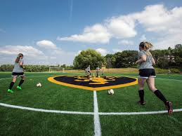 Artificial turf soccer field Natural Grass News Henan Kinghawk Sports Co Ltd Synthetic Turf Installed At Rolf Mellby Field St Olaf College
