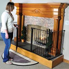 hearthgate child guard fireplace screen here2