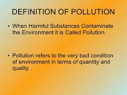 pollution ppt 4 types of pollution