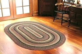 round oval braided rug area rugs blackberry accent 6x9 home depot red black