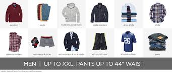 men s apparel