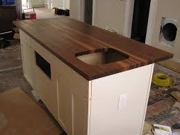 kitchen where butcher block countertop ikea walnut birch franklin tabletop custom tables lumbe island with top