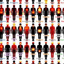 The Secret Feelings Chart Scientists Have Mapped Where People Feel Emotions In Their