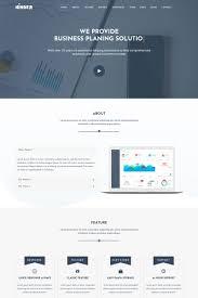Business Portfolio Template Kinger Personal Business Portfolio Landing Page Template