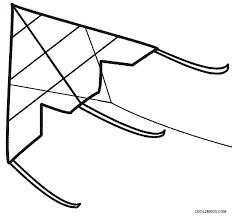 Free Printable Kite Template Printable Kite Template Printable Kite Kites Coloring Pages