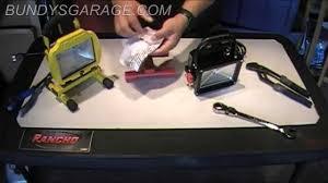 Review Home Depot Husky 5 Ft 800 Lumen Portable Led Work Light 480624 Bundys Garage