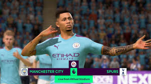 FIFA 20 Manchester City vs Tottenham HIGHLIGHTS & GOALS 17 AUGUST 2019 -  YouTube