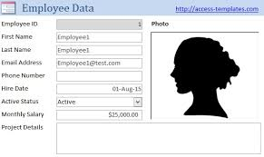 Access Accounts Receivable Template Database Microsoft Computer