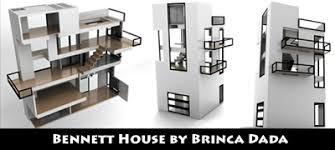 bennett house 116 34 scale finished kit discontinued was 599 by brinca dada brincadadacom brinca dada bennett house modern dolls