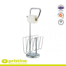 newspaper rack 1. Modren Rack Free Standing Toilet Paper Holder With Newspaper And Magazine Rack For  Bathroom Intended 1