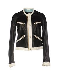 dsquared2 jacket black women coats and jackets dsquared wood the