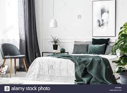 Green And Gray Interior Design Appealing Gray And Lime Green Bedroom Walls Decor For