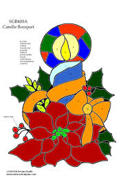 Christmas Stained Glass Patterns Interesting Inspiration Design