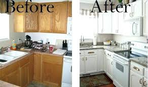 pictures old kitchen cabinet of how to reface cabinets image white refinishing spray paint cost