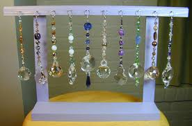Suncatcher Display Stands Wholesale 100 Crystal Suncatchers with Retail Store Display Stand 3