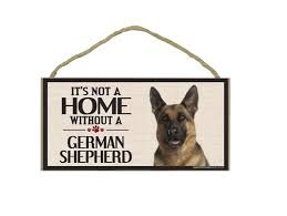 dog sign german shepherd