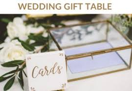 Wedding Gift Table Decorations Sign And Ideas wedding gift table ideas The Wedding of My Dreams BLOG 15