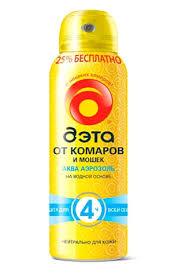 <b>Средство защиты от комаров</b> и мошек «Дэта Аква (Aqua)» 125 ...