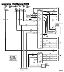 lincoln town car radio wiring diagram  95 lincoln town car wireing the new stereo and the factory jbl amps on 1995 lincoln