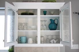 Other Exciting Gallery of Wonderful Kitchen Cabinet Door Glass in Clean  Kitchen Shade