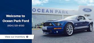 wele to ocean park ford