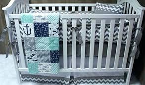 anchor crib bedding nautical crib bedding boy nursery teal anchor baby with sheet as well together anchor crib bedding